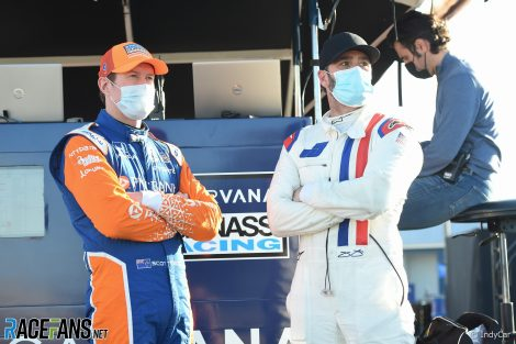 Scott Dixon, Jimmie Johnson, IndyCar, Sebring, 2021