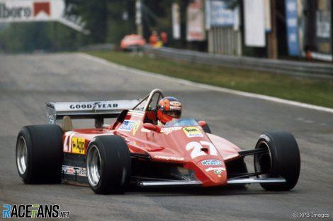 Gilles Villeneuve, Ferrari, Zolder, 1982