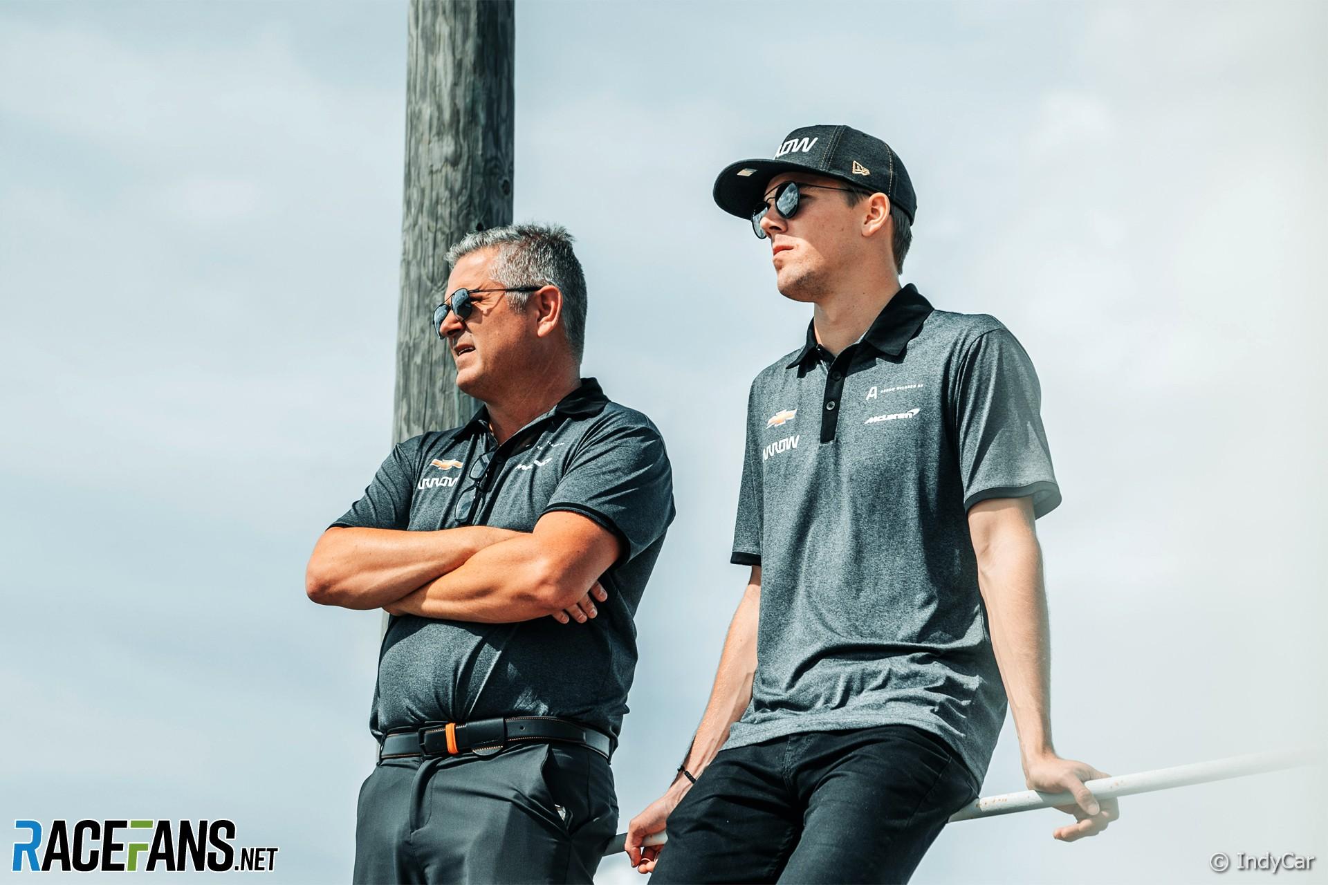 Gil de Ferran, Oliver Askew, McLaren SP, IndyCar, 2020