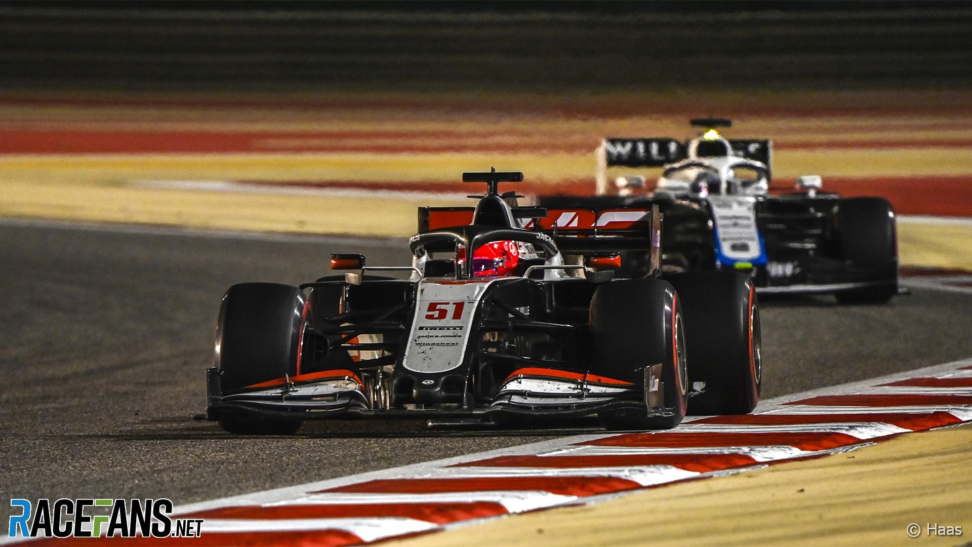 Pietro Fittipaldi, Haas, Bahrain, 2020