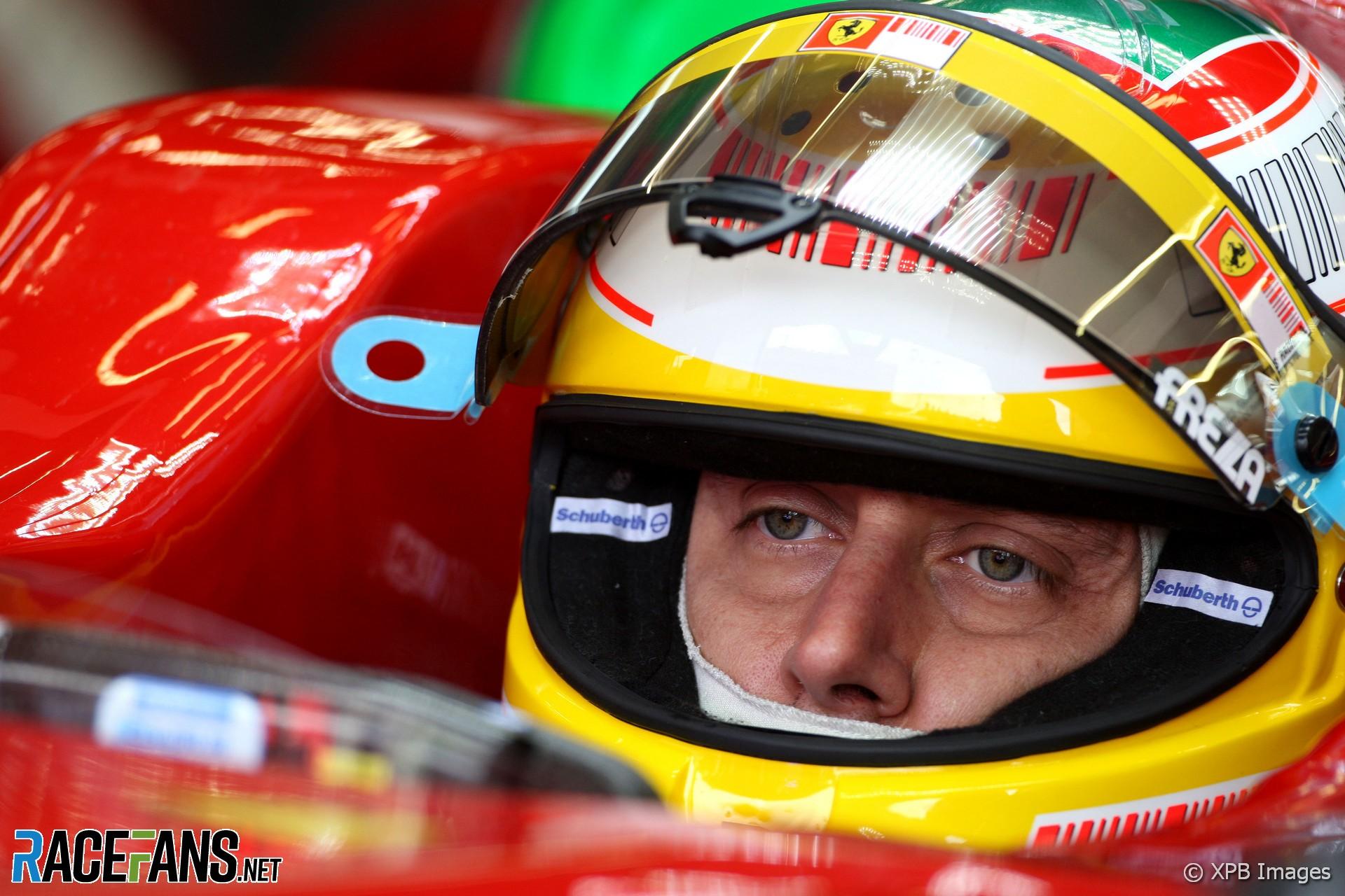 Luca Badoer, Ferrari, Spa, 2009