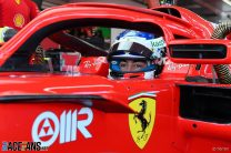 Pictures: Alesi and Armstrong make F1 test debuts for Ferrari