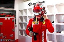 Charles Leclerc, Ferrari, Fiorano, 2021