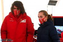 Marco Matassa, Maya Weug, Ferrari, Fiorano, 2021