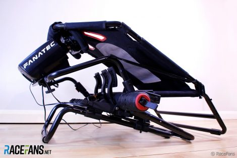 Next Level GT Lite foldable simracing seat