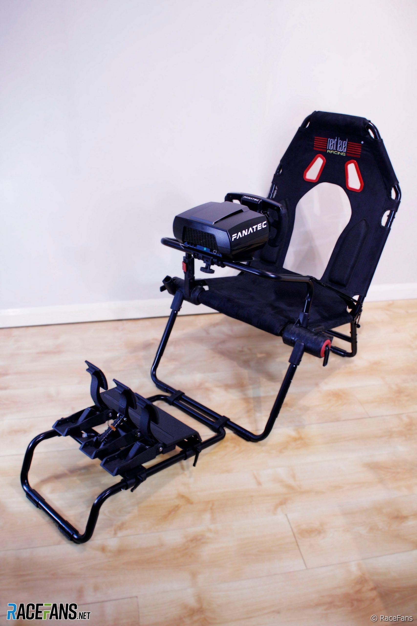 Next Level GT Lite foldable simracing seat