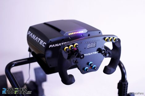 Fanatec CSL Elite F1 simracing kit and load cell brake pedal
