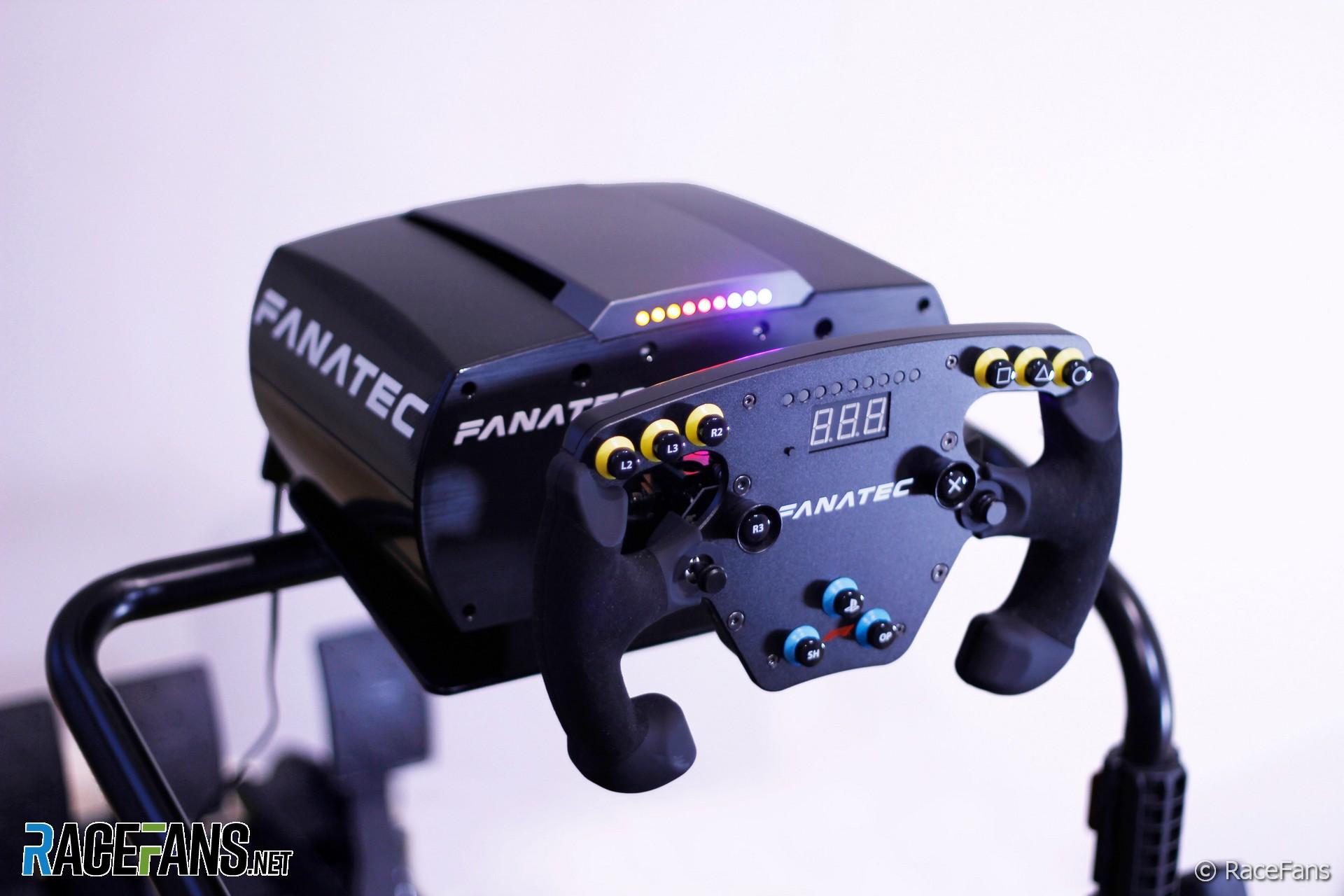 Fanatec CSL Elite F1 simracing kit and load cell brake pedal