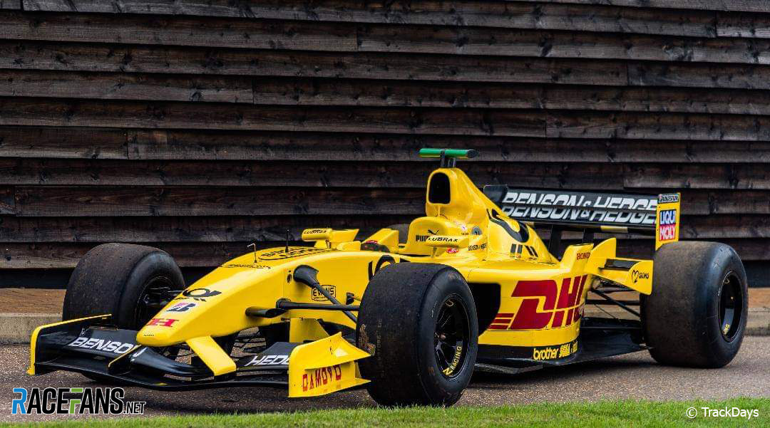 Racefans Round Up Ex Sato 2002 Jordan F1 Car Offered For Track Day Drivers