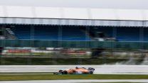 Lando Norris in the McLaren-Mercedes MCL35M, 2021