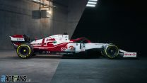 Sliders: Compare the new Alfa Romeo C41 with last year's car
