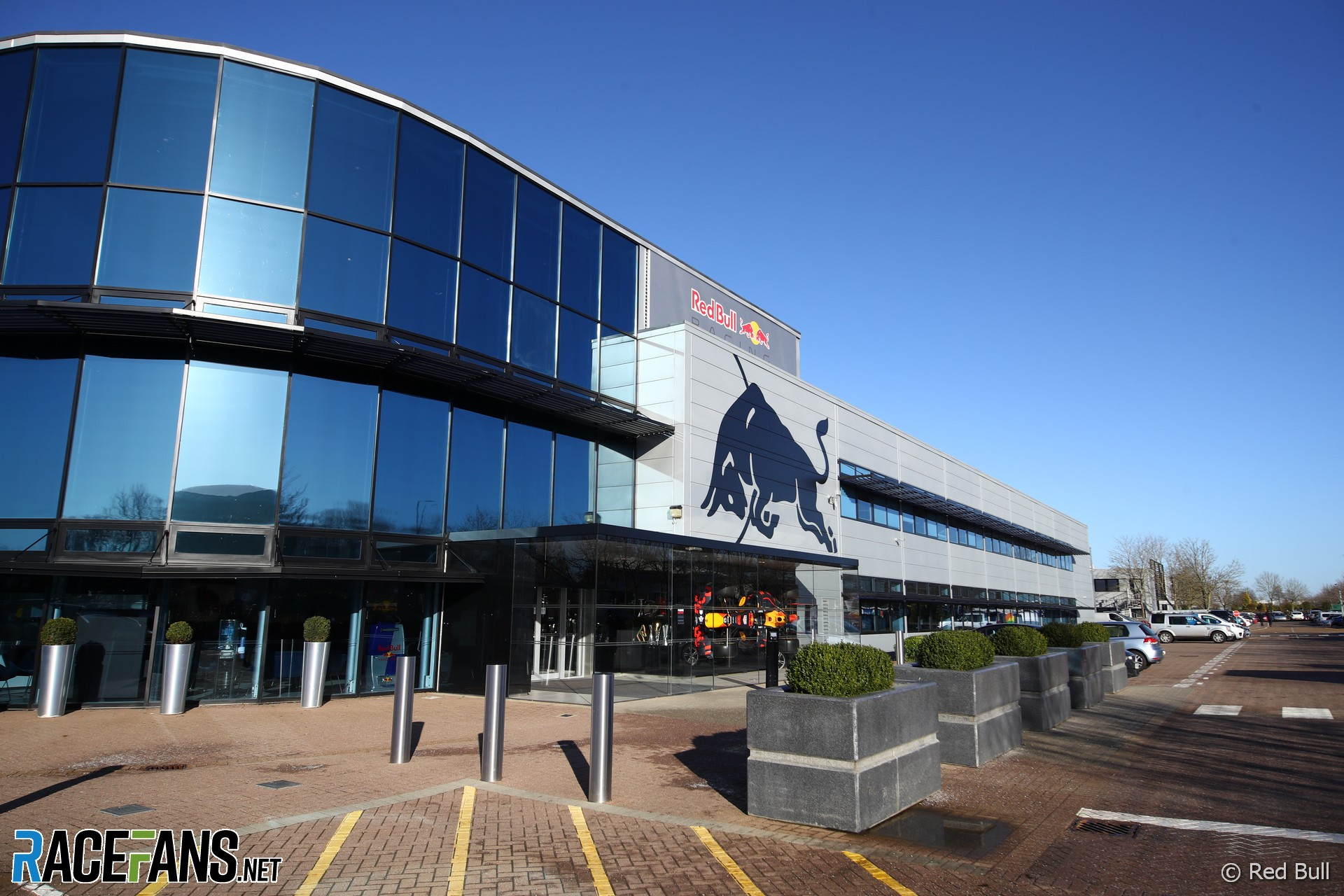 Red Bull factory, Milton Keynes, 2021
