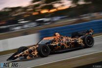 Felix Rosenqvist, McLaren SP, IndyCar, Sebring, 2021