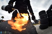 Tyre cleaning, IndyCar, Sebring, 2021
