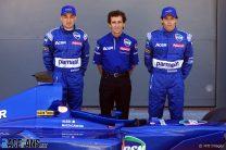 Jean Alesi, Alain Prost, Gaston Mazzacane, Prost, Melbourne, 2001