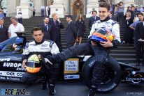 Tarso Marques, Fernando Alonso, Minardi, Melbourne, 2001