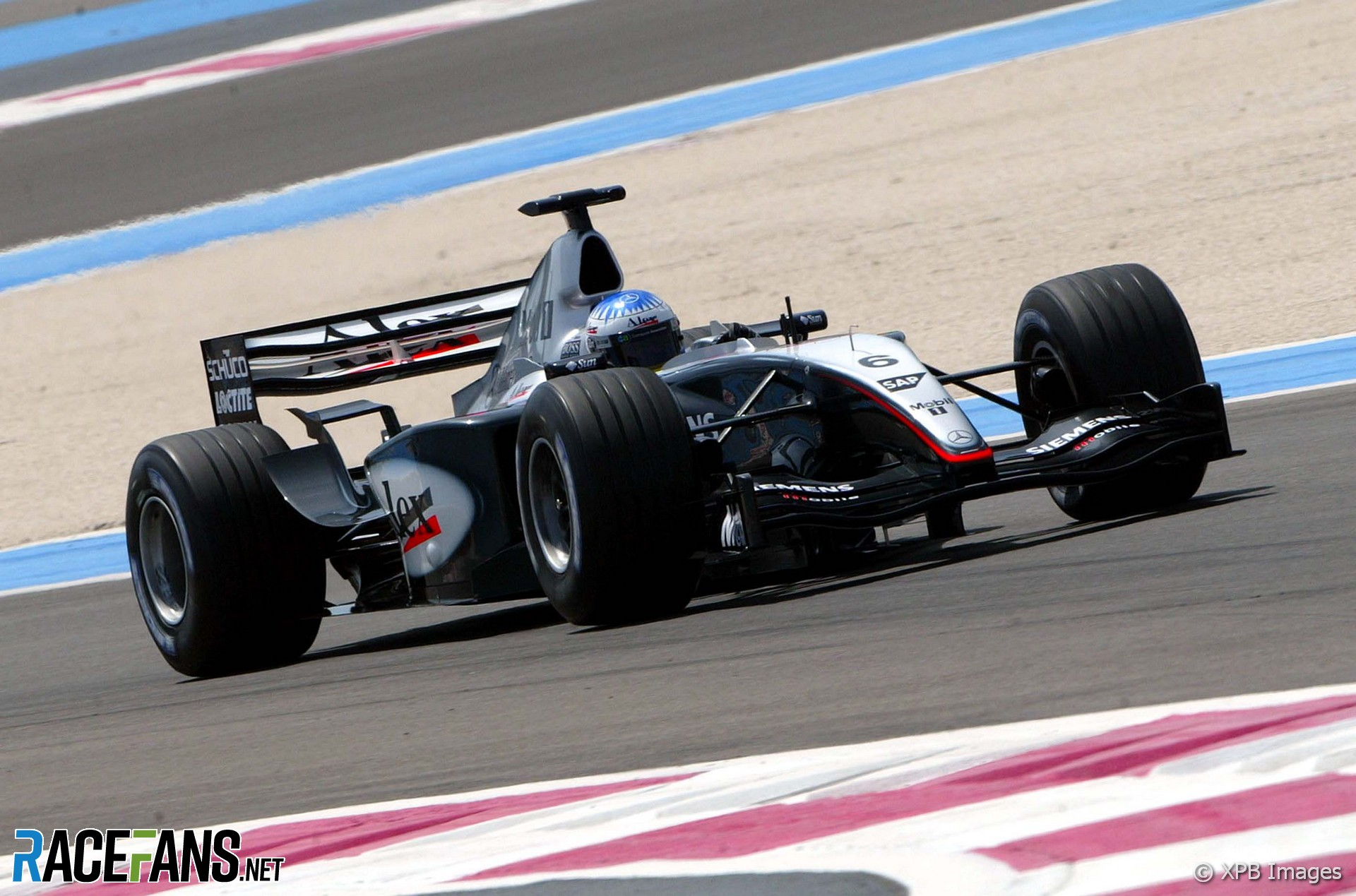 Alexander Wurz, McLaren, Paul Ricard, 2003