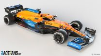 First pictures: McLaren reveals its new Mercedes-powered MCL35M for 2021