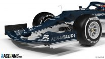 AlphaTauri used tokens and 2020 Red Bull parts to overhaul front end of AT02
