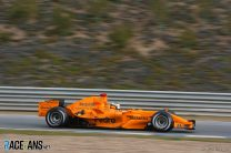 Pedro de la Rosa, McLaren, Jerez, 2006
