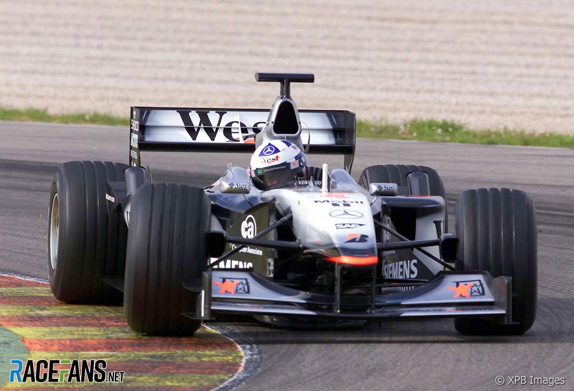 Mika Hakkinen, McLaren, Valencia, 2001