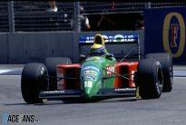Roberto Moreno, Benetton, Adelaide,, 1990