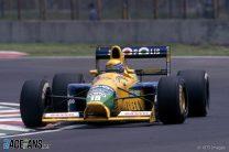 Roberto Moreno, Benetton, Autodromo Hermanos Rodriguez, 1991