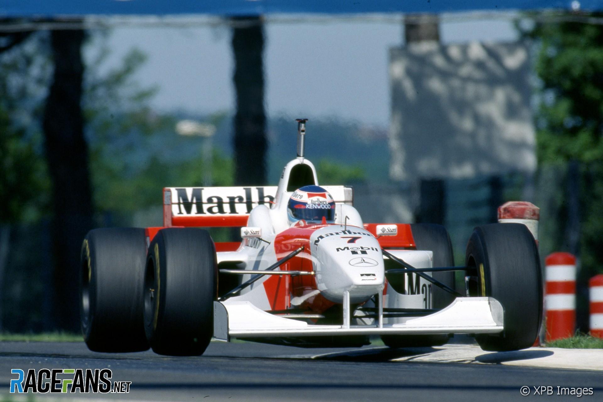Mika Hakkinen, McLaren, Imola, 2006