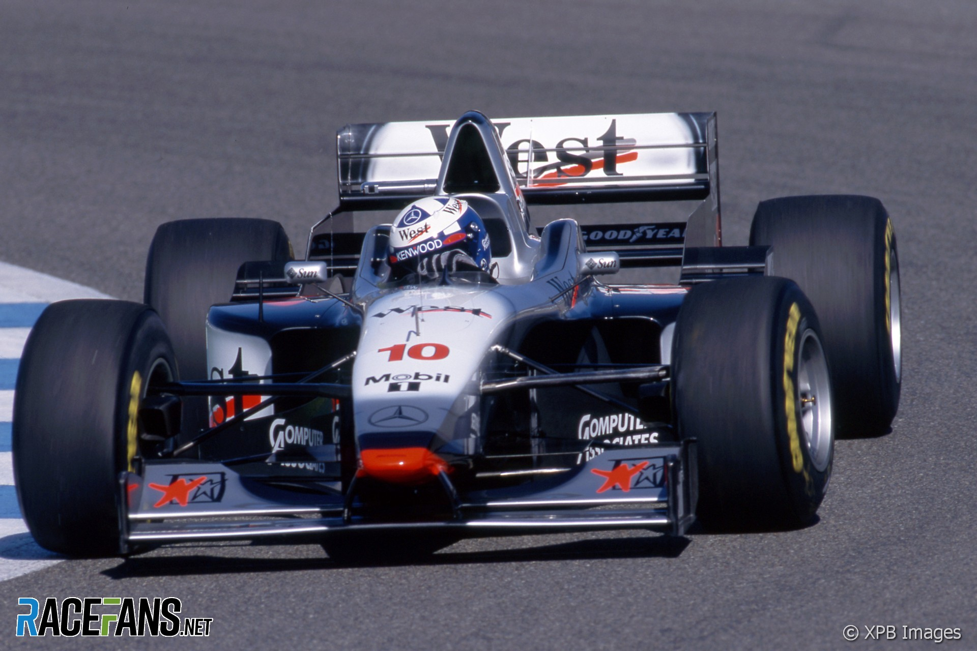 David Coulthard, McLaren, Jerez, 1997
