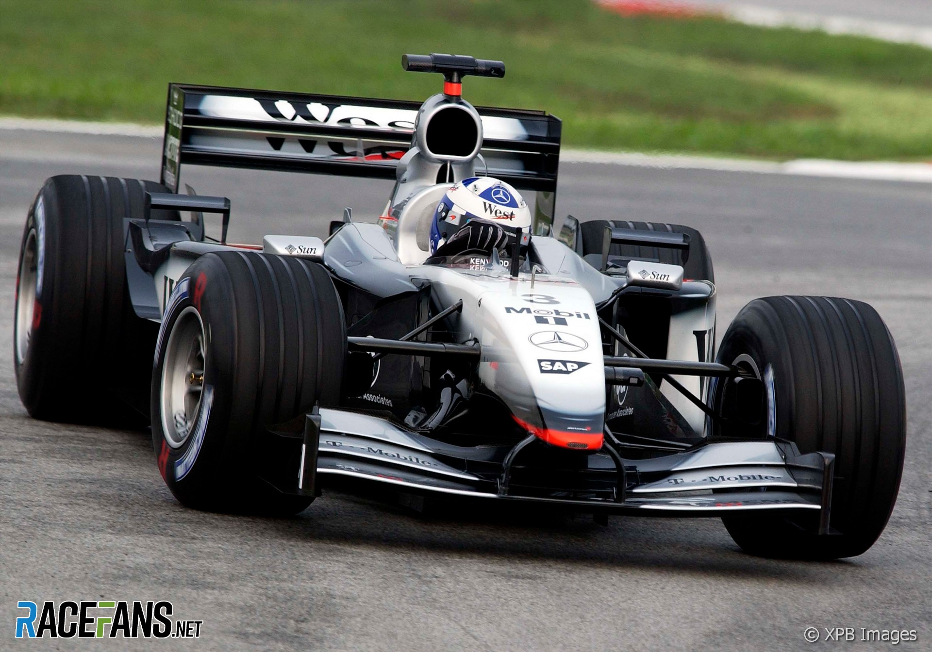 David Coulthard, McLaren, Sepang, 2002