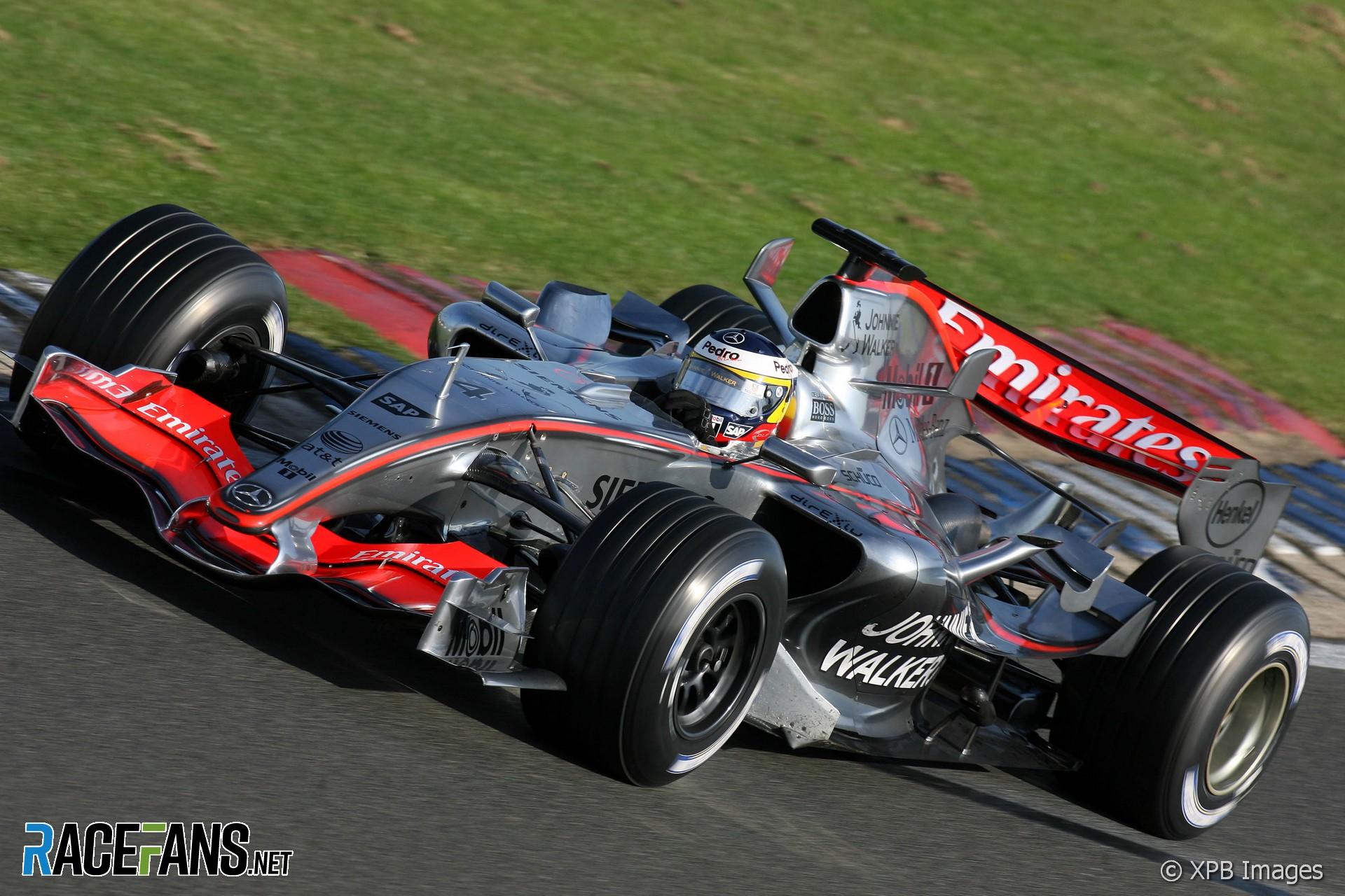 Pedro de la Rosa, McLaren, Silverstone, 2006
