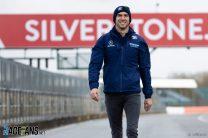 Nicholas Latifi, Williams FW43B shakedown, Silverstone, 2021
