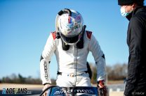 Pictures: Grosjean returns to action, 86 days after Bahrain crash, in IndyCar test