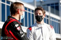 "Grosjean enjoys warm welcome in ""very different"" IndyCar paddock"