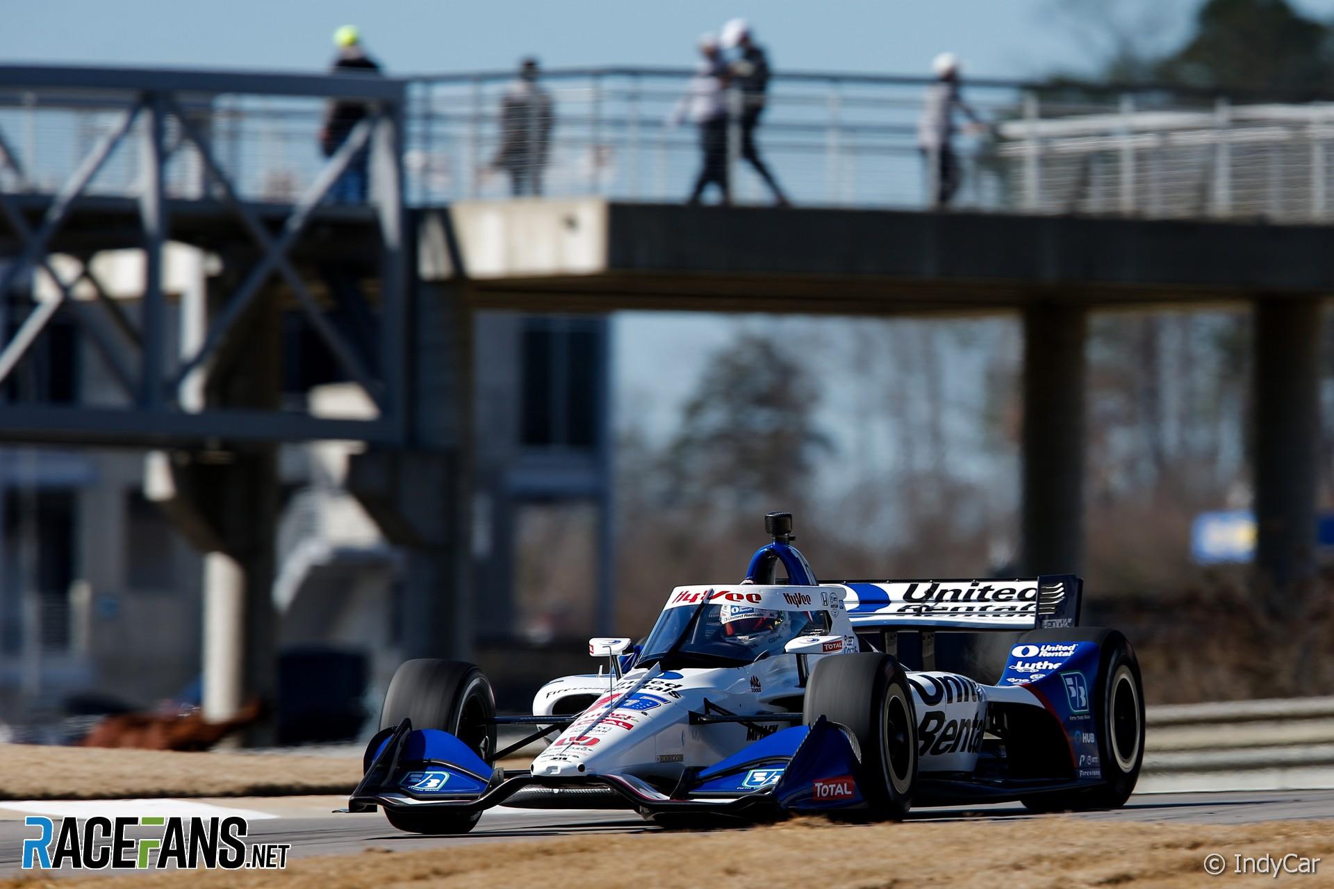 Graham Rahal, RLL, IndyCar, Barber Motorsport Park, 2021