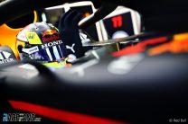 Sergio Perez, Red Bull RB15, Silverstone, 2021