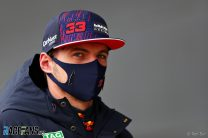 """""""It's all looking promising but it doesn't make sense to hype everything up"""" – Verstappen"""