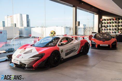 McLaren road cars