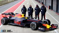 Perez first to drive new Red Bull RB16B at Silverstone
