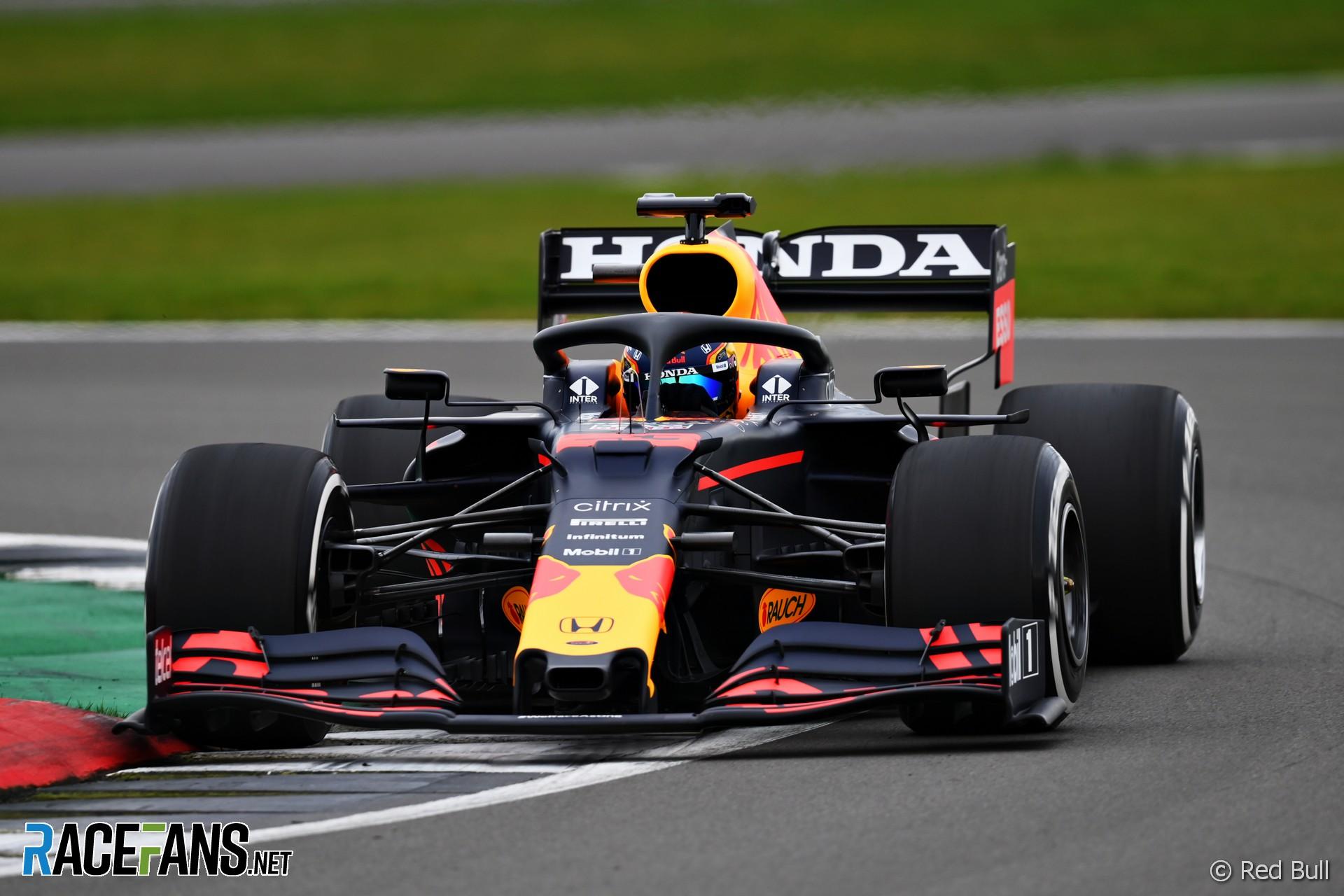 Alexander Albon, Red Bull, Silverstone, 2021