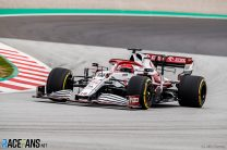 Robert Kubica, Alfa Romeo, Circuit de Catalunya, 2021