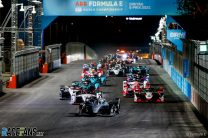 De Vries dominates for Mercedes in Formula E's first night race