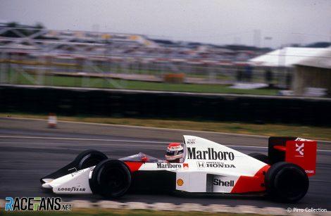 Emanuele Pirro, McLaren, 1989