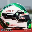 Antonio Giovinazzi's 2021 F1 Helmet
