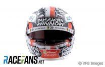 Charles Leclerc's 2021 F1 Helmet