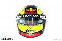 Sergio Perez's 2021 F1 Helmet