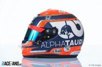 Yuki Tsunoda's 2021 F1 Helmet