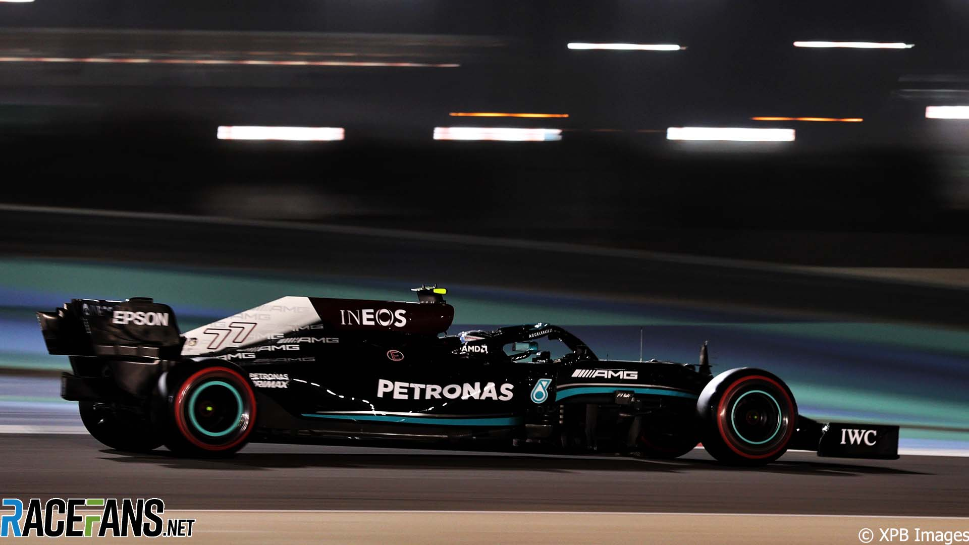 Valtteri Bottas, Mercedes, Bahrain International Circuit, 2021