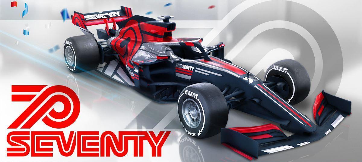 """F1 Delta Time """"70th Anniversary Edition"""" Apex car NFT"""
