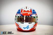 Esteban Ocon's 2021 F1 Helmet